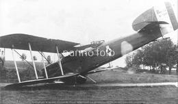 PHOTO AVION       BREGUET 14 N° 202 CRASH    RETIRAGE REPRINT - Aviation