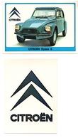 Vignette Panini Citroën 2 CV  Dyane 6 - Colecciones