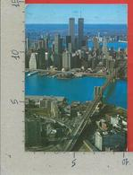 CARTOLINA VG STATI UNITI - The NEW YORK Financial District With The East River - 10 X 15 - 1995 - Multi-vues, Vues Panoramiques