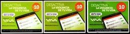 Bolivia 2018-19· //16-07-2019 / 21-01-2020 / 19-02-2020 VIVA Desactiva La Violencia De Tu Vida. 3 Fechas, 3 Colores - Ontwikkeling