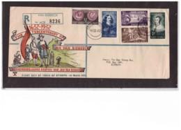 1084  -   VAN RIEBEECK  14.3.1952    /    FDC  MICHEL NR.  224/228 - Afrique Du Sud (...-1961)