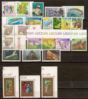 (Fb).Liechtenstein.1989.Serie Complete Nuove,gomma Integra,MNH (70-20) - Liechtenstein