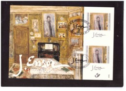 1097  -   TEL AVIV-BRUXELLES  16.5.1999    /   MICHEL  ISRAEL 1517 + BELGIE  2874 - Arte