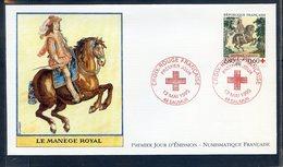 TIMBRE FRANCE...REF120520...DOCUMENT PHILATELIQUE 1ER JOUR ... 13 Mai 1995 CROIX ROUGE FRANCAISE - FDC