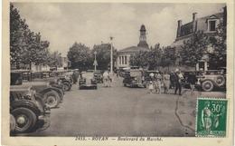 Royan Nouveau Marché 1930, Bombardé En 1945, Rare, TBE - Royan