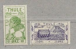 Rou22 - THULE 1* Et 3* Neufs. - Thulé