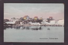 CPA Groenland Kolonien Fiskenaes Non Circulé - Groenlandia