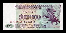 Transnistria 500000 Rubles 1997 Pick 33 SC UNC - Banknotes