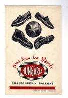 PUB  -  BUVARD Publicitè HUNGARIA Pour Tous Les Sports - Sport