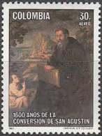 1600 Anos De La Conversion De San Agustin - Christianisme