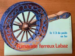 1 BUVARD FUMARATE FERREUX LABAZ - Papel Secante