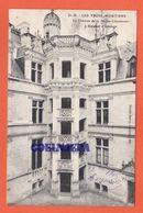 LES TROIS MOUTIERS Le Chateau De La Motte Handenier - L'escalier D'honneur ( Voyagée) - Les Trois Moutiers