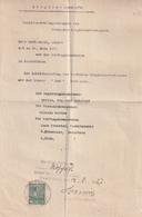 Hist. Dokument / 1927 / Zeugnis-Abschrift Mit Stempelmarke Ex Saarbruecken (BE34) - Documentos Históricos