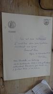 Papier Fiscal ALGEIRE, Testament 1954  .................. F-18 - Manuscrits
