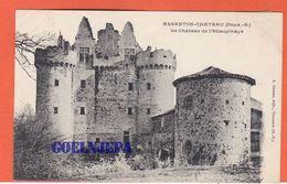 ARGENTON CHATEAU Le Chateau De L'Ebaupinaye ( Voyagée) - Argenton Chateau