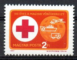 HONGRIE. N°2762 De 1981. Croix-Rouge Hongroise. - Cruz Roja