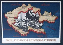 DR 1938, Postkarte P275, AUSSIG Sonderstempel - Covers & Documents