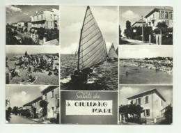 SALUTI DA S.GIULIANO A MARE  VIAGGIATA  FG - Rimini