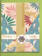 CHANEL* DOUBLE CARD * PARIS -CUBA - Cartoline Profumate