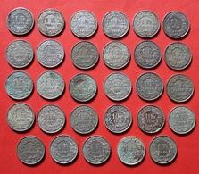 SUISSE LOT 29 X 1 FRANC 1886 - 1964 ARGENT. SILVER. SWITZERLAND. - Svizzera