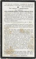 Doodsprentje  *  Scheiris Julianus  (° Seveneeken 1859 / +  1916 ) + De Bus Louise - Religion & Esotericism