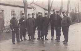 Militaria 1917 Carte Photo Groupe De Soldat Du 8 Eme Régiment Artillerie De Campagne Nancy - Guerra 1914-18