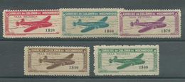 200035184  MOZAMBIQUE  YVERT  AEREO  Nº 12/6  */MH - Mozambique