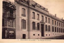 BANQUE DE FRANCE - BEAUMONT-sur-OISE : La Banque De France - Tres Bon Etat - Banques