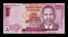 Malawi 100 Kwacha 2017 Pick 65c SC UNC - Malawi