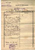 Bulletin De Correspondance Du 134e Règiment D'infanterie Pour La Famille Du Soldat Laurent.L Tombè Au Champ D'honneur - Documents Historiques