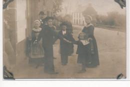 CARTE PHOTO A LOCALISER : Bretagne(?), Personnages, Danse - Tres Bon Etat - Photos