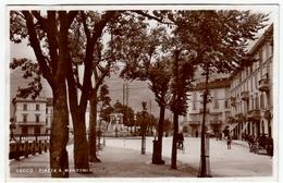 LECCO - PIAZZA A. MANZONI - 1933 - Vedi Retro - Formato Piccolo - Lecco
