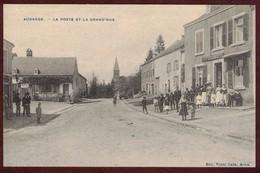 Aubange La Poste Et La Grande Rue  Animée BELGIQUE  Région Wallonne   AUBANGE Postes Berichten - Belgique