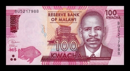 Malawi 100 Kwacha 2019 Pick 65 New SC UNC - Malawi