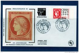 FDC  - 3212 - Cérès - 1990-1999