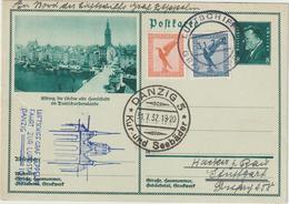 Zeppelin: Fahrt Zur Luposta In Danzig - Zeppelins