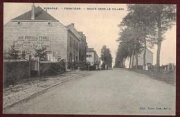 Aubange - Frontière - Route Vers Le Village - épicerie Café Félix Plom Mercerie  BELGIQUE  Région Wallonne  Aubange - Belgique
