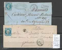 France - Lettre - GC 3530 - SAINT BONNET LE CHATEAU - Loire - 2 Piéces - Poststempel (Briefe)