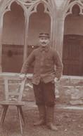 Militaria 1916 Carte Photo Soldat Du 8 Eme Régiment Artillerie De Campagne Declerck Gery  A Nieurlet - Guerra 1914-18