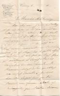 Lettre à En-tête De La Mairie De Commercy, 20/8/1846 - Documents Historiques