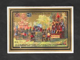Chromo Doré Biscuits OLIBET ''les Plus Grands Honneurs..'' 7,8x12 OTTIMO STATO - Confetteria & Biscotti