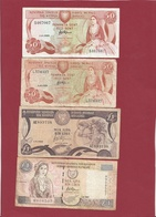 Chypre  7 Billets Dans L 'état - Chypre