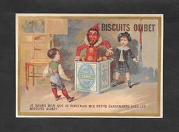 Chromo Doré Biscuits OLIBET ''Je Savais Bien Que Je..'' 7,8x12 OTTIMO STATO - Confetteria & Biscotti