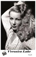 VERONICA LAKE (PB28) - Film Star Pin Up PHOTO POSTCARD - Pandora Box Edition Year 2007 - Donne Celebri
