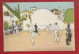 ILLUSTRATEUR - AU PAYS BASQUE - CHISTERA AU FRONTON COMMUNAL - BARRÉ DAYEZ 1120 C - Illustrateurs & Photographes