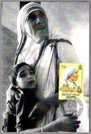 MADRE TERESA DE CALCUTA. First Day British Virgin Islands 2001 - Mother Teresa