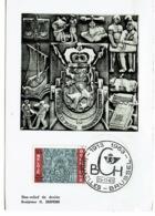 1963  Scuipteur O Jespers - FDC