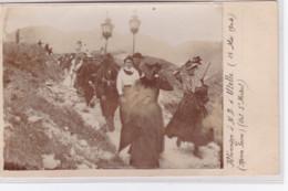 Pélerinage à Notre Dame D'Utelle (ROCCA SIERA - Col Saint Michel) En 1904 - Très Bon état - France