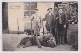 LUCHON : La Chasse à L'ours (chasse) - état - Luchon