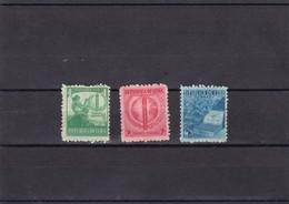 Cuba Nº 257 Al 259 Manchas En La Goma - Unused Stamps